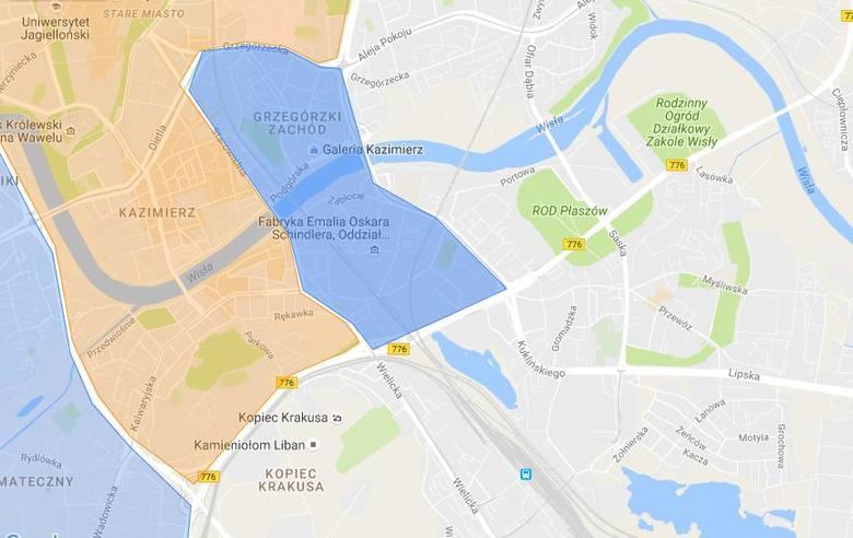 Kolor czerwony obszary zamknięteObszar Zamknięty BłoniaUlice graniczne obszaru: 3 Maja, Piastowska, Focha.UPRAWNIENI DO WJAZDU:- mieszkańcy tego obszaru-