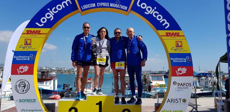 Czwórka zawodników Klubu Biegacza MOSiR Krosno, wystartowała w 21 Logicom Maratonie w miejscowości Pafos (Paphos - Miasto Afrodyty) na Cyprze. Krośnieńska