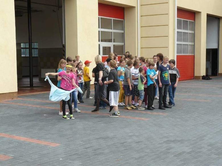 Inteaktywna sala w Straży Pożarnej w Pruszczu. Pomoże dzieciom w zajęciach dotyczących bezpieczeństwa