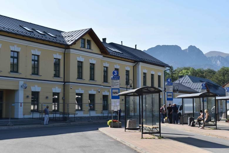 Zakopane. Dworzec kolejowy już prawie po remoncie. W październiku zostanie otwarty dla podróżnych