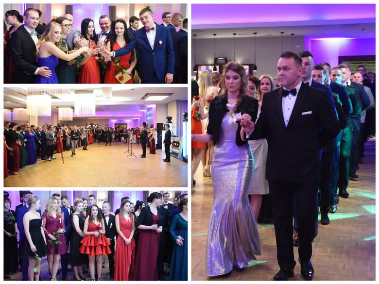 Tak na swojej studniówce bawili się maturzyści z  Zespołu Szkół Gastronomiczno-Hotelarskich w Toruniu.