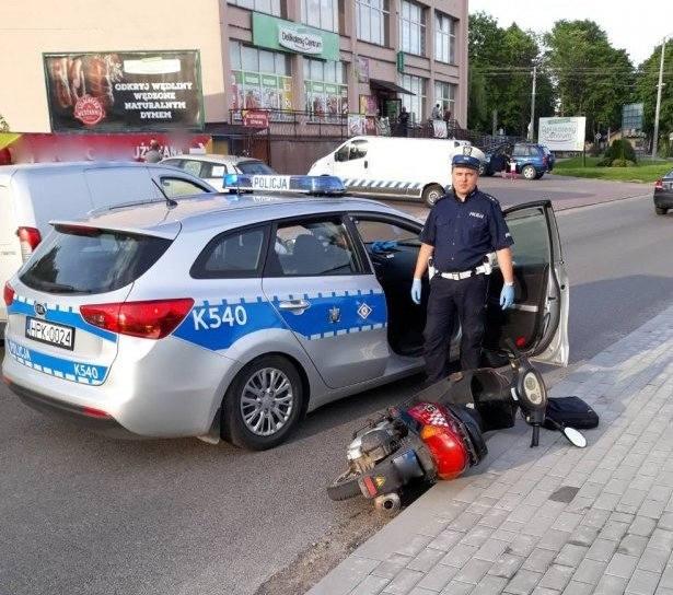23-letni Duńczyk ukradł rower w Warszawie, w naszym regionie grożąc śrubokrętem dokonał rozboju - ukradł motorower