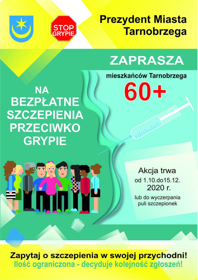 W Tarnobrzegu ruszają bezpłatne szczepienia przeciwko grypie. Skorzystają seniorzy