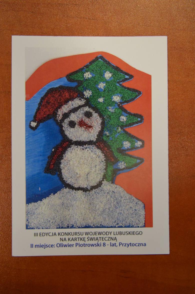 Jedna z kartek nadesłana na konkurs wojewody lubuskiego
