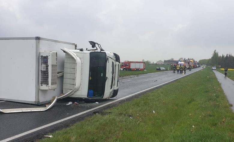 W wypadku na DK nr 25 w okolicach Gościeradza zginął 67-letni kierowca citroena C5.