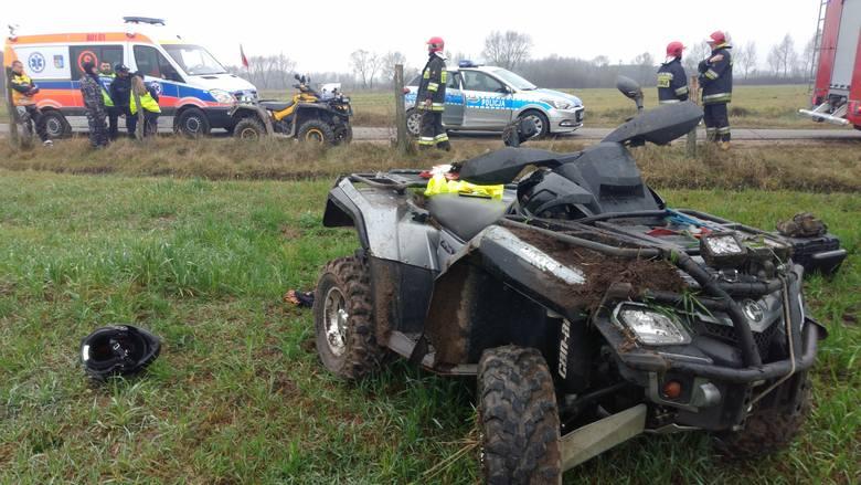 W piątek około godziny 12.20 na drodze gminnej w rejonie miejscowości Osowiec doszło do zdarzenia drogowego.
