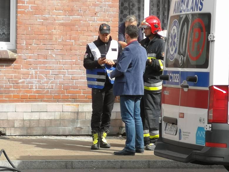 Pożar przy ul. Narutowicza w Grudziądzu. Jedna osoba nie żyje [zdjęcia]