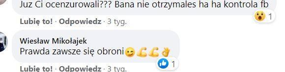 Wpisy radnego Mikołajka na Facebooku