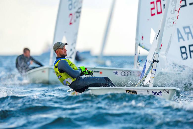 Aleksander Arian sięgnął w niedzielę na niemieckich wodach po swój największy sukces