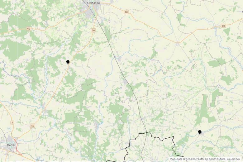 Droga krajowa nr 50Przy drodze krajowej nr 50, między Płońskiem a Ciechanowem, doszło do wypadku z dwiema ofiarami śmiertelnymi. Przyczyną tragedii było