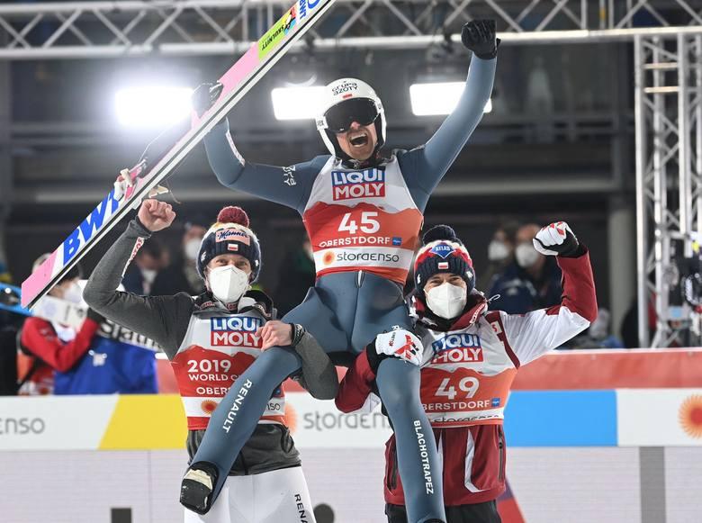 Piotr Żyła wywalczył dzisiaj złoty medal MŚ w Oberstdorfie