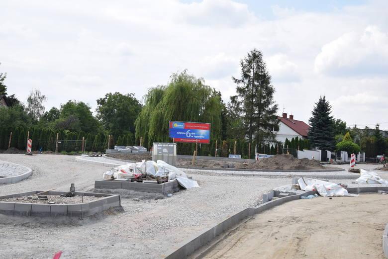 Nowe rondo przy ul. Kozietulskiego
