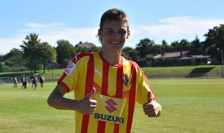 W ciekawym meczu Centralnej Ligi Juniorów do 17 lat piłkarze Korony Kielce wygrali z Hutnikiem Kraków 3:1. Pierwszą bramkę zdobył Bartosz Kralka w 16