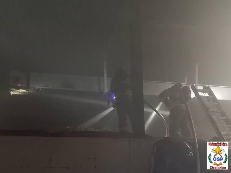 W nocy z piątku na sobotę w jednym z zakładów w miejscowości Suliszewo doszło do pożaru.