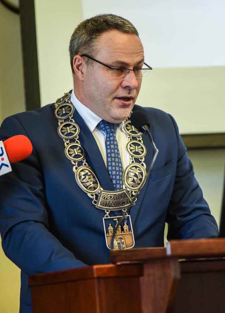 Nadzwyczajna Sesja Rady Miasta Bydgoszczy.