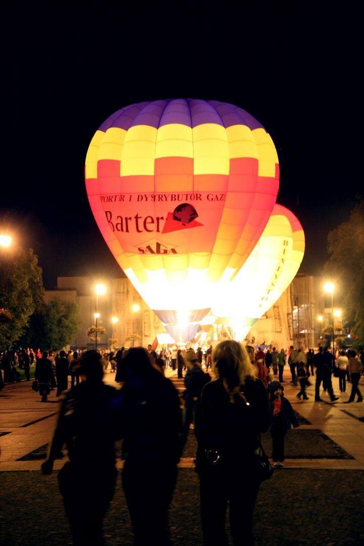 Balony przez Teatrem Dramatycznym - 2008 rok