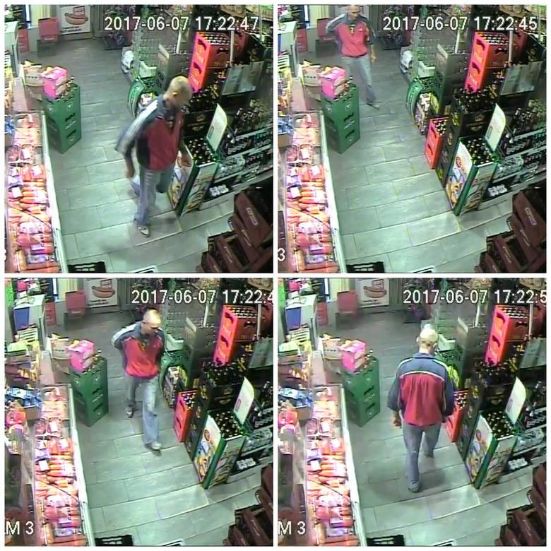 Policjanci z Grudziądza prowadzą dochodzenie w sprawie kradzieży z włamaniem do rachunku bankowego przy użyciu karty w ubiegłym roku. Oto zdjęcia z nagranie