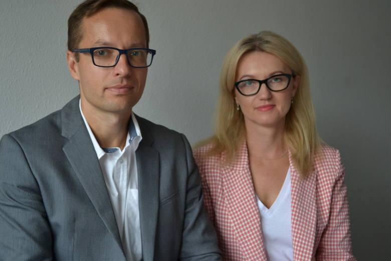 Informacji udzielali Renata Topolewska i Piotr Nadolny z Urzędu Marszałkowskiego w Toruniu