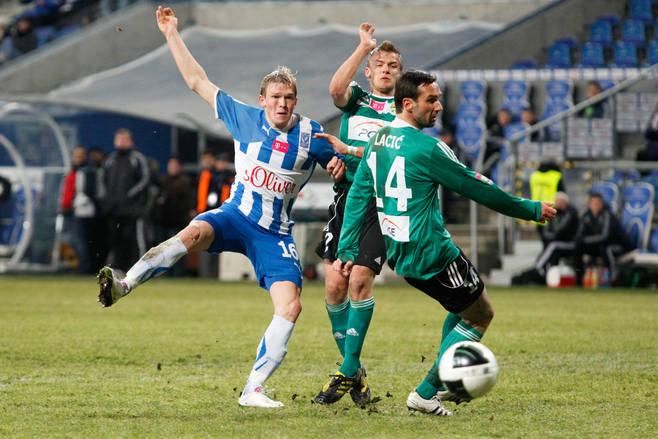 Lech Poznań - GKS Bełchatów 0:1 - 17 lutego 2012Bramka: Dawid Nowak (89).