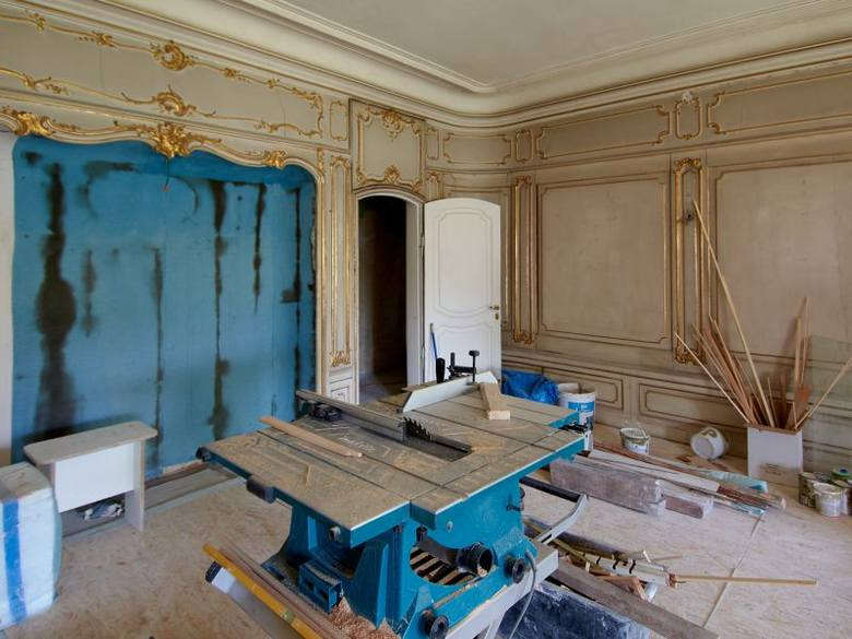 Dzięki prowadzonym pracom remontowo - konserwatorskim, na drugim piętrze zamku zostanie otwarta nowa trasa zwiedzania