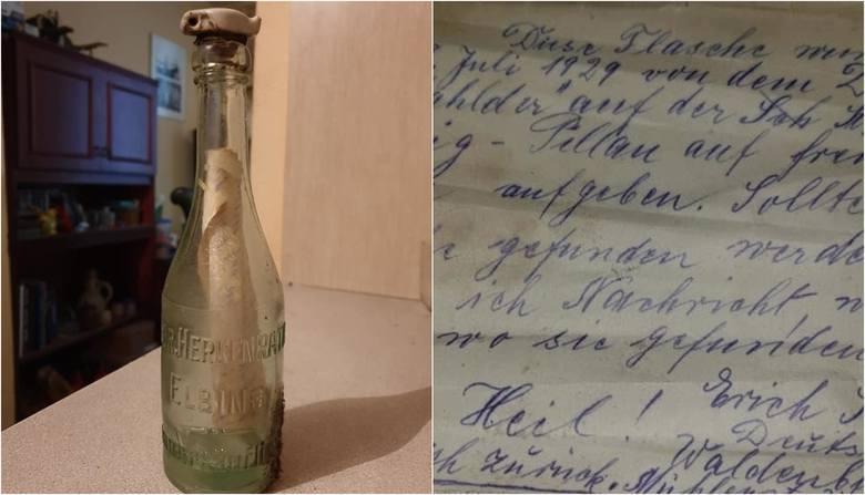 Autorzy listów w butelce od dawna nie żyją, a te nadal krążą po morzach. Jeden z nich wyłowiono z Zalewu Wiślanego. W wodzie był 90 lat