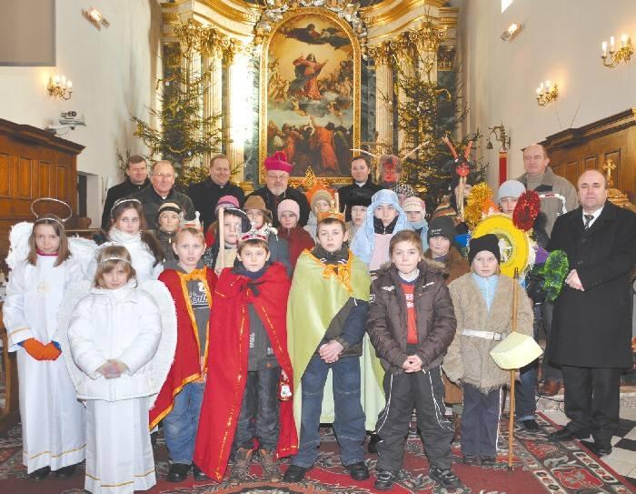 Doroczne spotkanie opłatkowe biskupa drohiczyńskiego z sołtysami z trzech dekanatów: bielskiego, brańskiego i hajnowskiego odbyło się w  zeszłym tygodniu