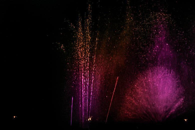 Widzieliście kiedyś tańczące fontanny? Podczas Winobrania w Ogrodzie Botanicznym odbyło się wyjątkowe muzyczno-świetlne widowisko. Specjalne instalacje przyjechały do nas z Krakowa. Pokazy odbywały się dwa razy dziennie w piątek i sobotę. <br /> Fontanny tańczyły do muzyki Fryderyka Chopina, ale...