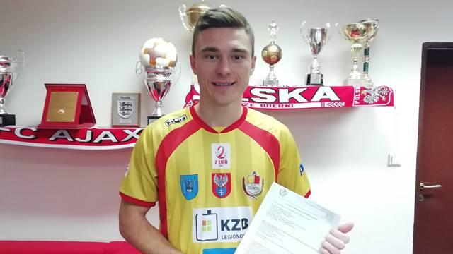 Marcin Kluska zagra w Legionowie