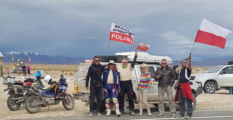 Motocyklem po Ameryce Południowej śladami Dakaru