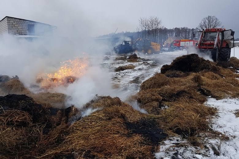 Miniony czwartek był dość pracowity dla strażaków powiatu grajewskiego. Wczoraj doszło do dwóch dużych pożarów.Zdjęcia udostępnione dzięki uprzejmości: