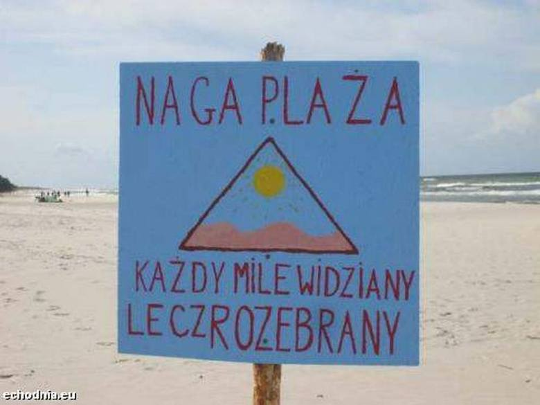 Plaż dla nudystów jest pełno. Zobacz, gdzie opalają się golasy!