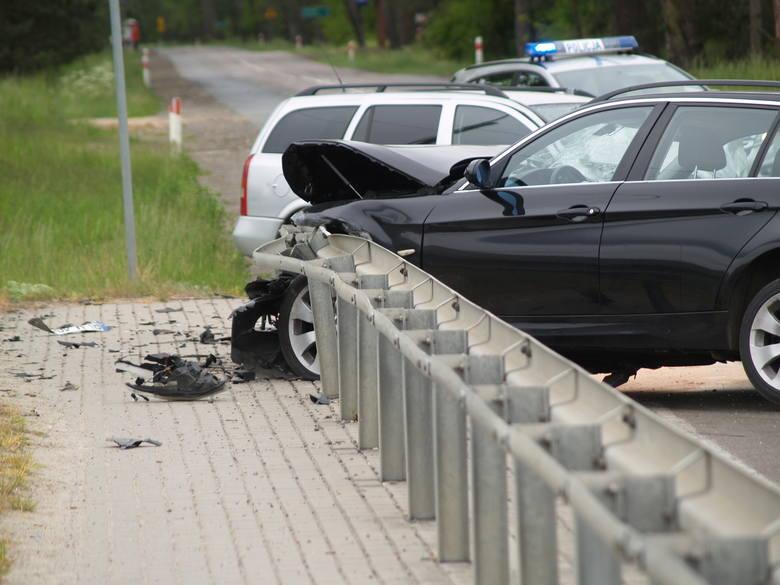 Wypadek na DK 53 w Wydmmusach, 30.05.2020