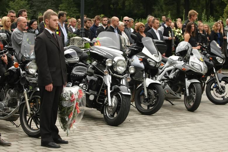 Pogrzeb Maksymiliana Starościaka na cmentarzu na Osobowicach