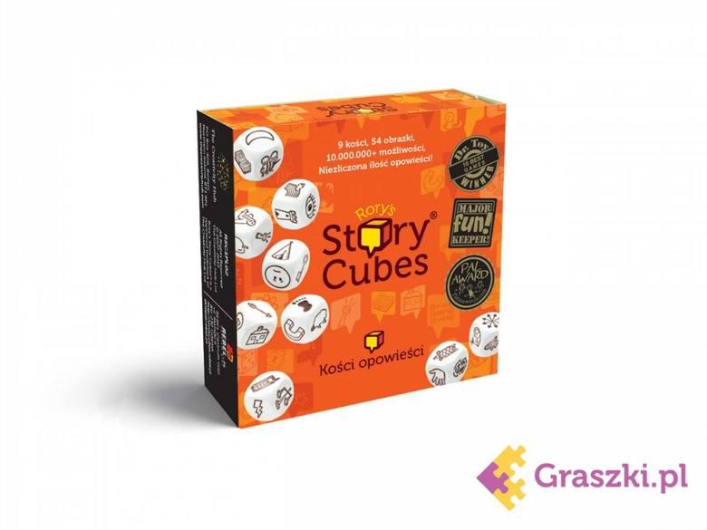 Miejsce 15 - Story Cubes9 kości, 54 obrazy, nieskończona ilość opowieści, czyli Story Cubes! To prosta w założeniach i jednocześnie genialna gra, która