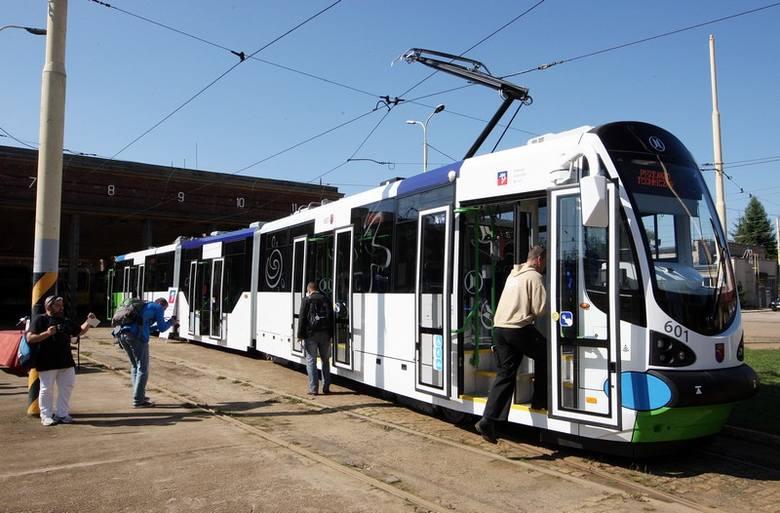Szczeciński tramwaj moderus beta.