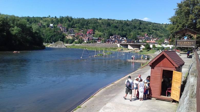 Dunajec, przystań