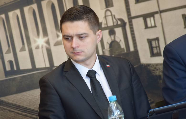 Sesja rady powiatu nowosolskiego, 22 lutego 2019 r.<br /> Łukasz Kempa