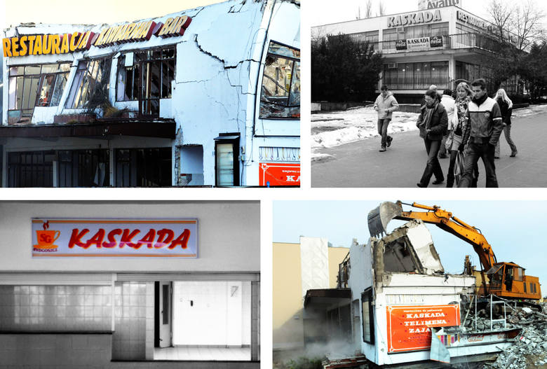 """3 stycznia 2008 roku, po 39 latach funkcjonowania, definitywnie zamknięty został budynek """"Kaskady"""" na rogu Starego Rynku i ul. Mostowej. Budynek zakupił"""