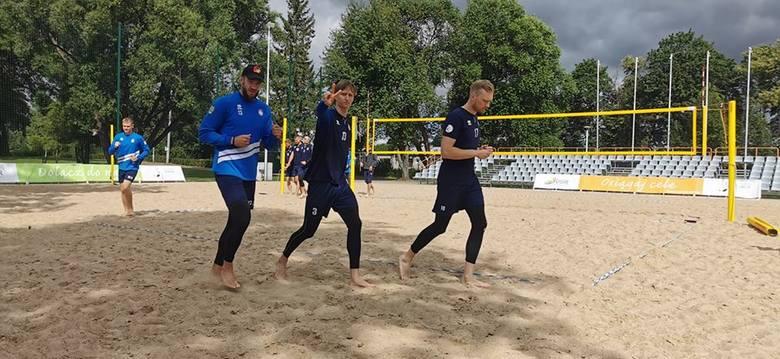 Drużyna Ślepska Malow Suwałki w Warszawie zagra także w turnieju siatkówki plażowej PreZero Grand Prix Polskiej Ligi Siatkówki