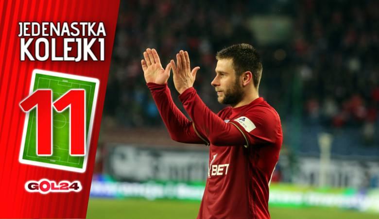 Jedenastka 29. kolejki LOTTO Ekstraklasy według GOL24 [GALERIA]