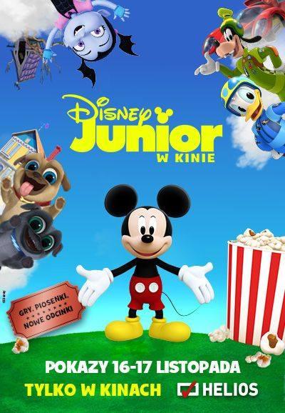 """Spędź weekend z bohaterami Disney Junior. Przyjdź w sobotę i niedzielę do bydgoskiego """"Heliosa"""""""