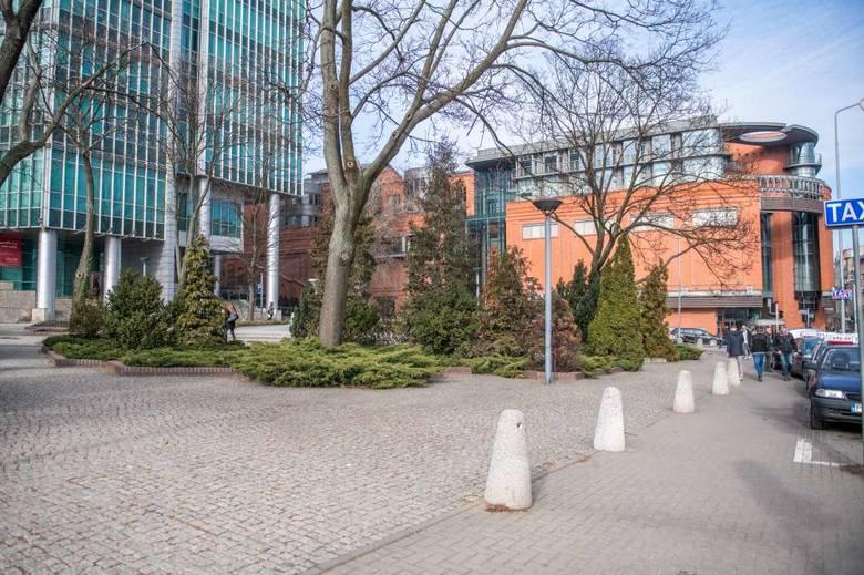 Teren przy Andersji - tu pierwotnie planowano nadanie patronatu generała Skąpskiego