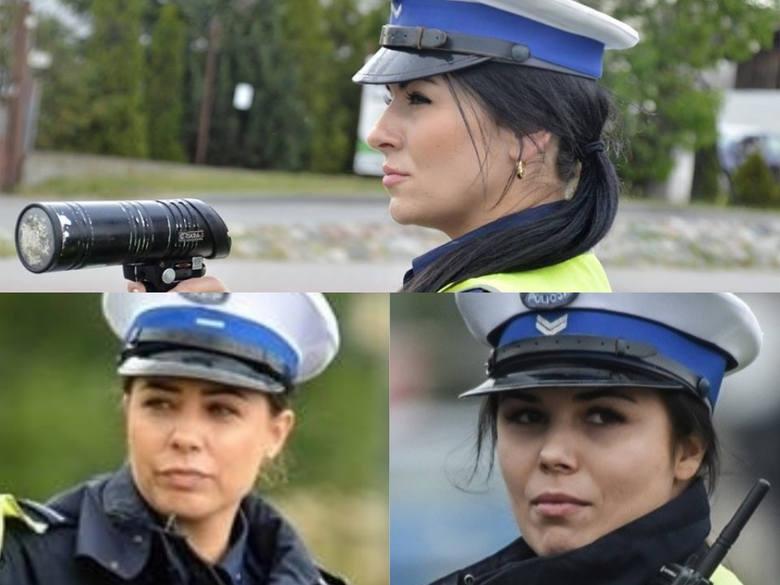 Zobaczcie zdjęcia, pochodzące z naszego archiwum, pięknych pań pracujących w policji w województwie kujawsko-pomorskim.