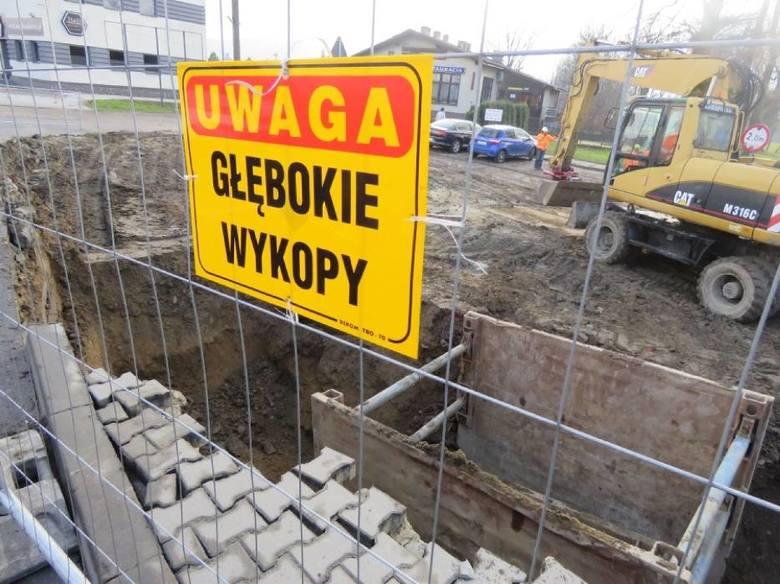 """Remont mostu na """"krajówce"""" w Wadowicach"""