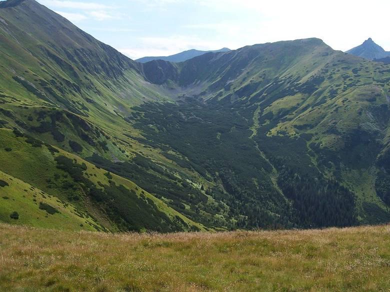 Dolina Jarząbcza Jeden z niedocenianych dolin w Tatrach. To jednak z odnóg Doliny Chochołowskiej. Wystarczy więc zboczyć z głównego, tłumnego zazwyczaj