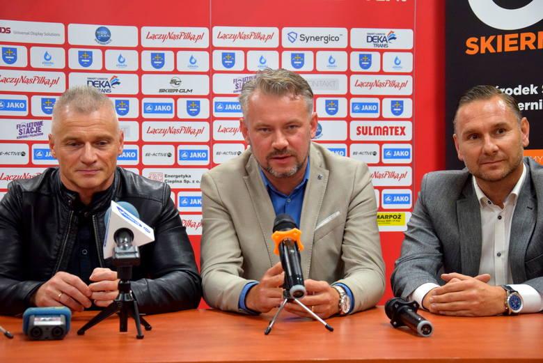 Konferencja prasowa przed meczem Unii Skierniewice z Piastem Gliwice [ZDJĘCIA, FILM]