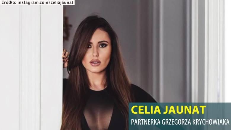 Celia Jaunat - partnerka Grzegorza Krychowiaka