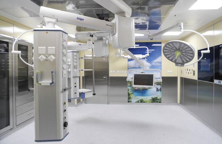 Tak wygląda nowy blok operacyjny w Szpitalu Miejskim w Rzeszowie.