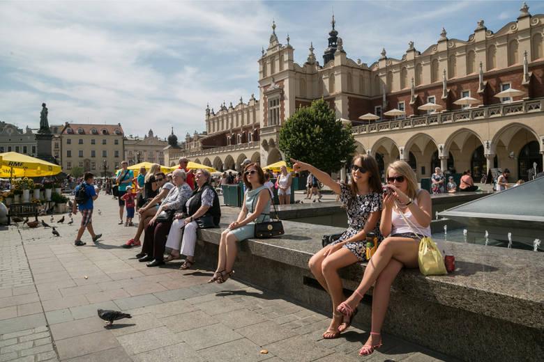 W 2018 roku stolicę Małopolski odwiedziło już 13,5 miliona osób.