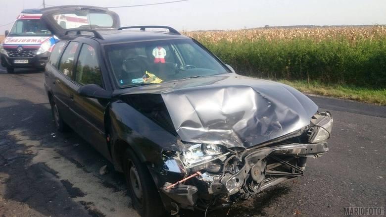 19-latka jadąca oplem vectra nie zachowała bezpiecznej odległości od jadącego przed nią daewoo matiza, kierowanego przez 41-letnią kobietę i najechała